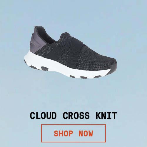 Cloud Cross Knit